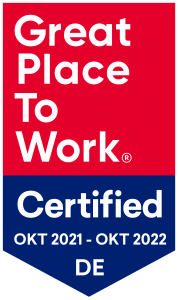 Great place to work - certified